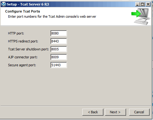 Installing multiple instances is easy with Tcat installer