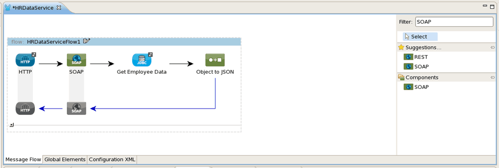 Mule ESB with the Oracle Database and IBM WebSphere MQ – Use