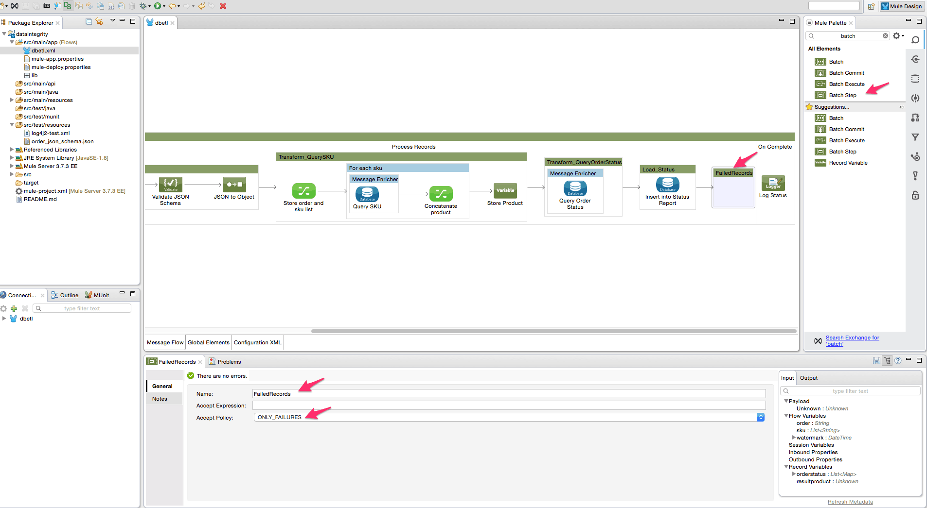 HowTo – Data Integrity checks in batch processing | MuleSoft
