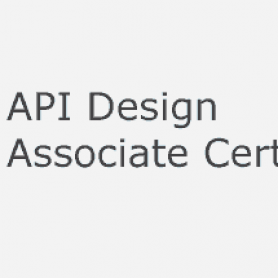 api design associate certification