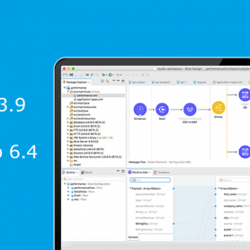 mule runtime 3.9 anypoint studio 6.4
