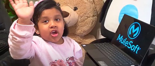Meet Anshi, the four-year-old MuleSoft developer