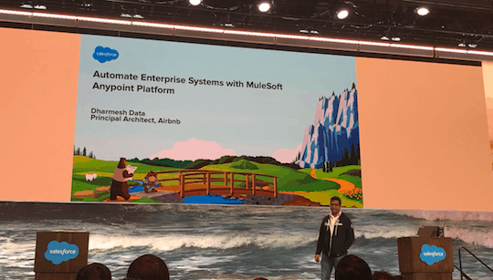 Airbnb's Dharmesh Data presenting at TDX19