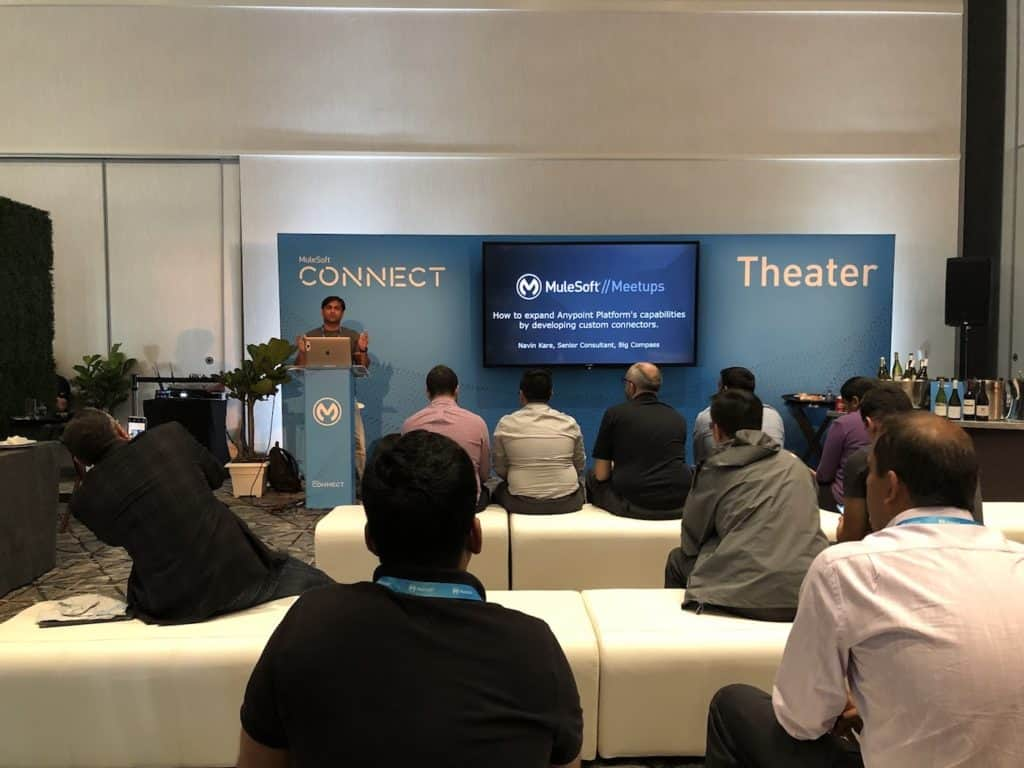 Big Compass' Navin Kare at MuleSoft CONNECT Atlanta meetup