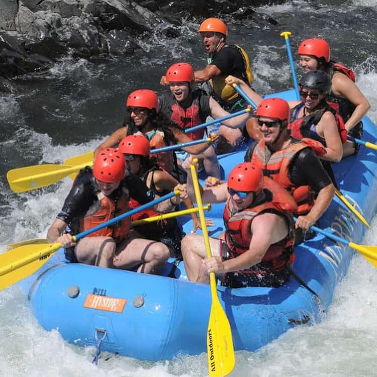 Rafting with the Mules