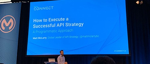 Matt McLarty API strategy presentation