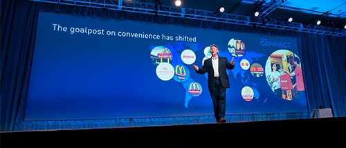 Former McDonald's CIO Frank Liberio at MuleSoft CONNECT