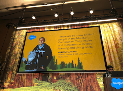 MuleSoft Ambassador Miguel Martinez at TDX19