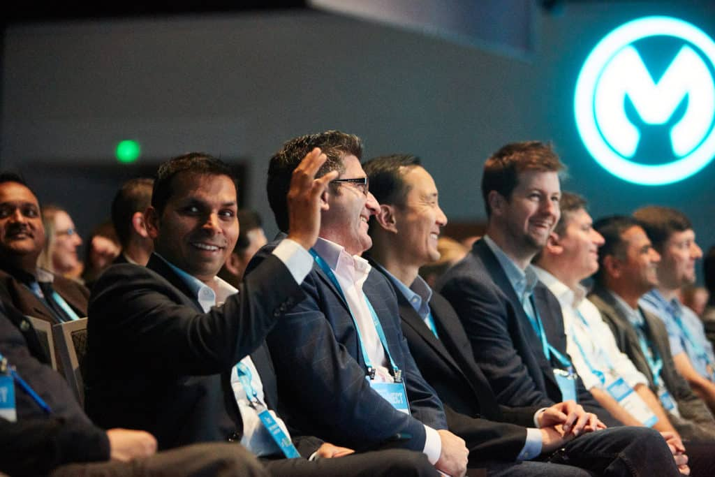 MuleSoft CONNECT keynote attendees