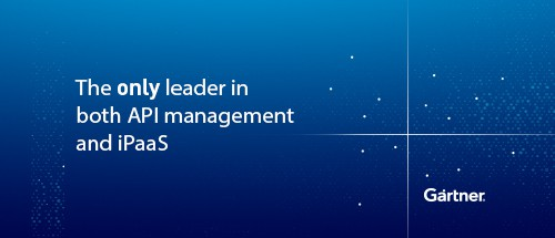 MuleSoft is the only Leader in both Gartner Magic Quadrant for Enterprise iPaaS and Full Life Cycle API Management
