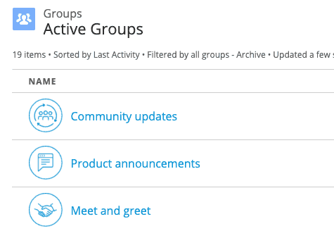 MuleSoft Help Center discussion groups
