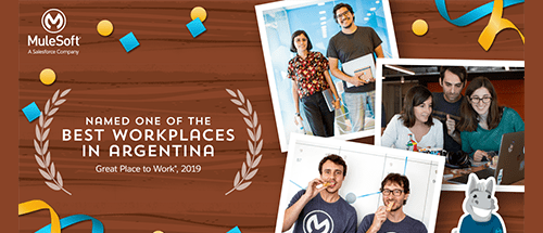 MuleSoft named one of Argentina's best workplaces for the third year