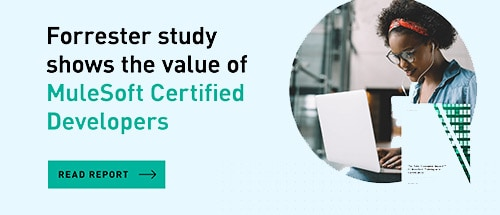 Forrester study shows 235% ROI on MuleSoft Training