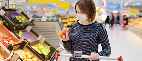 Combatting empty-shelf syndrome: Keeping grocery shelves stocked in the midst of crisis