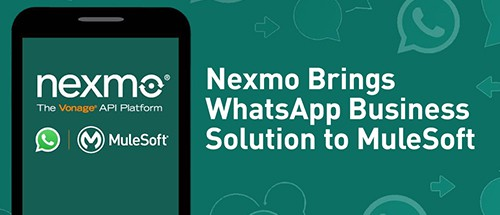 WhatsApp-MuleSoft-Nexmo